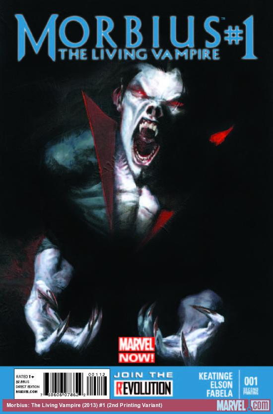 MORBIUS: THE LIVING VAMPIRE 1 2ND PRINTING VARIANT