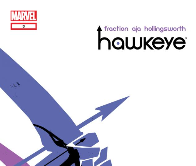 Cover Hawkeye Issue #3