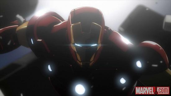 Iron Man returns to anime in Iron Man: Rise of Technovore