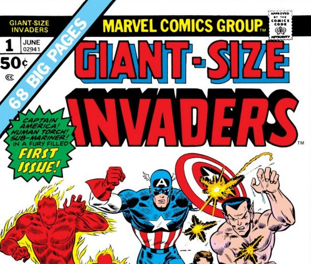Giant Size Invaders #1