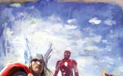 Avengers Assemble #2 variant cover by Stephanie Hans
