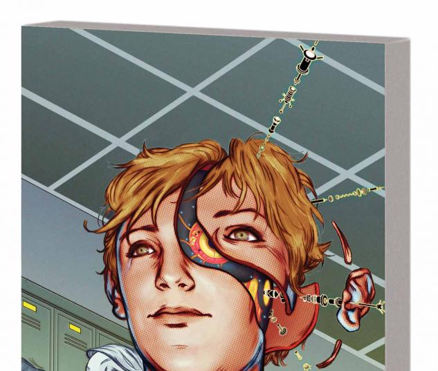 Machine Teen TPB Cover
