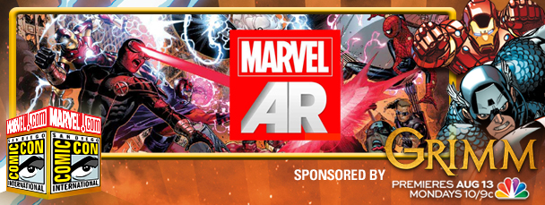 SDCC 2012: Get Exclusive Videos with Marvel AR
