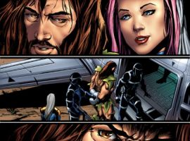 THUNDERBOLTS: BREAKING POINT Interior Art