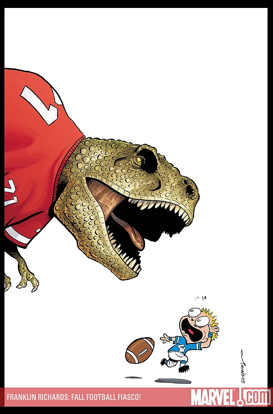 FRANKLIN RICHARDS: FALL FOOTBALL #1