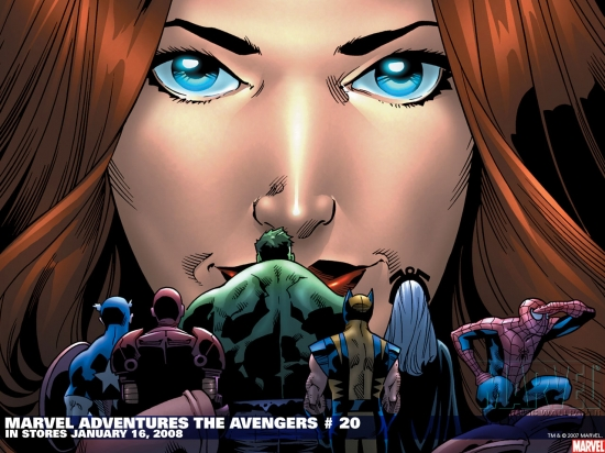 Marvel Adventures the Avengers (2006) #20 Wallpaper