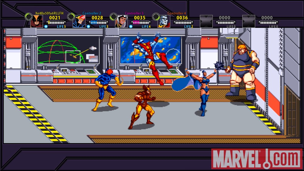 Image Featuring X-Men, Blob, Colossus, Cyclops, Storm