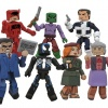 The Jean DeWolff Saga Marvel Minimates set