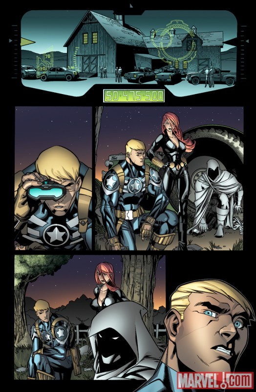 Image Featuring Black Widow, Captain America