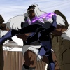 Screenshot of Black Panther and M'baku from The Avengers: Earth's Mightiest Heroes!