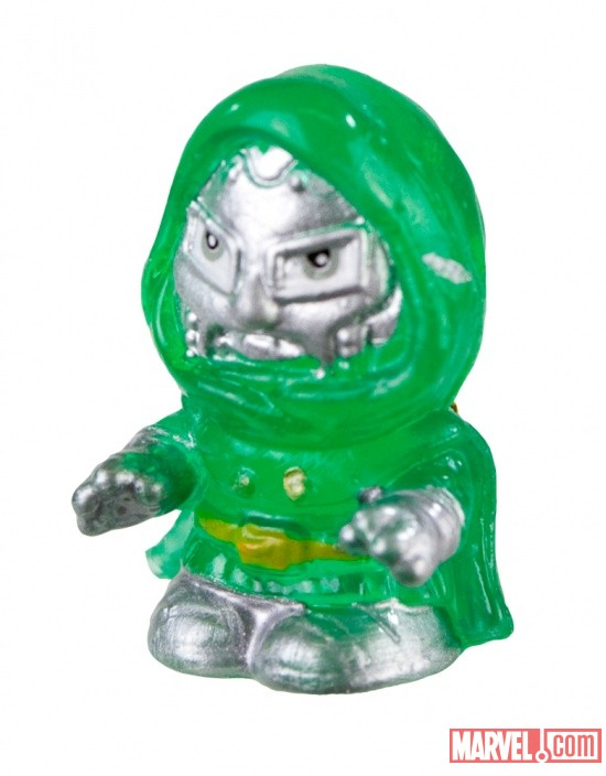 Marvel Squinkies- Transparent Doctor Doom