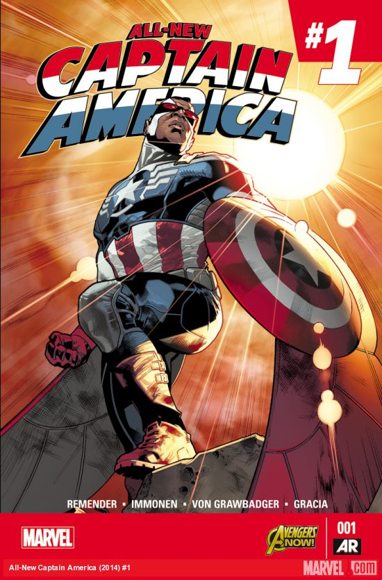 All-New Captain America (2014) #1