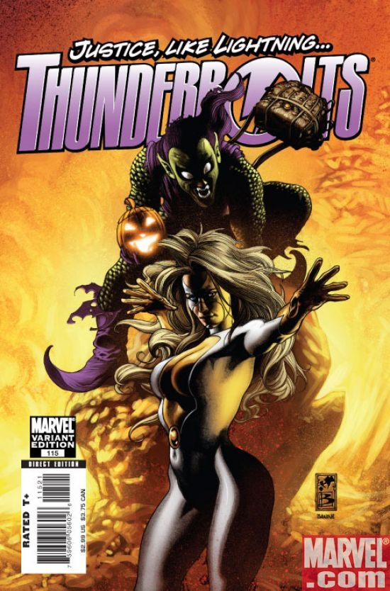 Thunderbolts #115 (Bianchi var.)