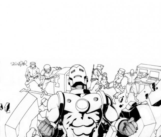 Iron Man Legacy (2010) #1 (2ND PRINTING VARIANT)