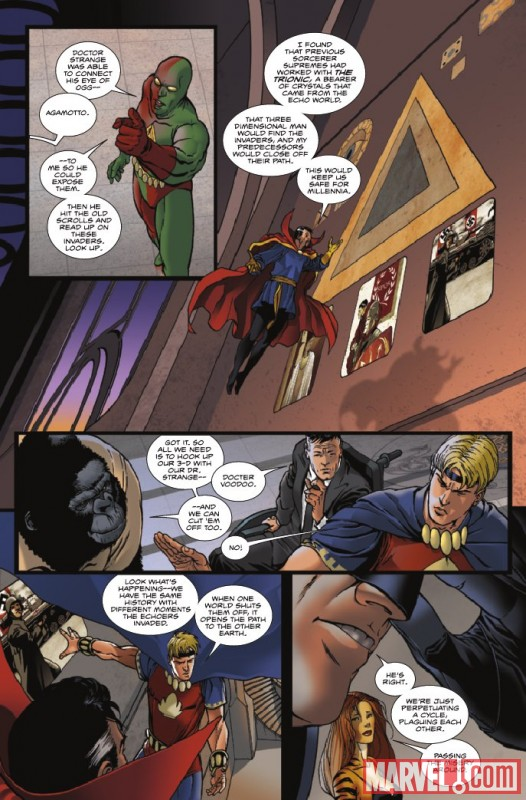 Image Featuring Doctor Strange, Jimmy Woo
