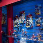 Maryel Action Figures at Hasbro Booth Toy Fair 2010