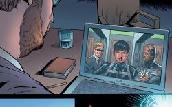 Coulson &amp; Fury Enter the Marvel Universe