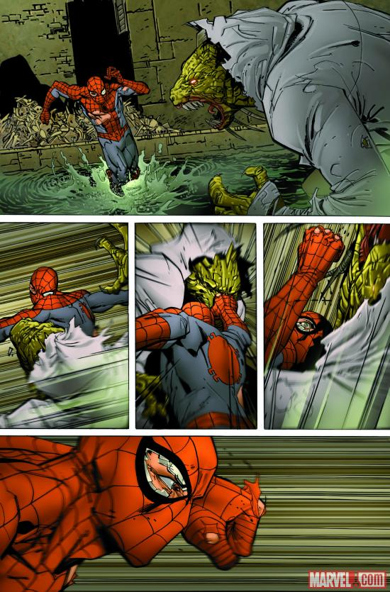 Amazing Spider-Man #688 preview art by Giuseppe Camuncoli