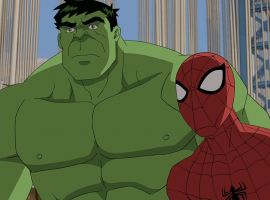 Hulk and Spidey switch brains in Marvel's Ultimate Spider-Man