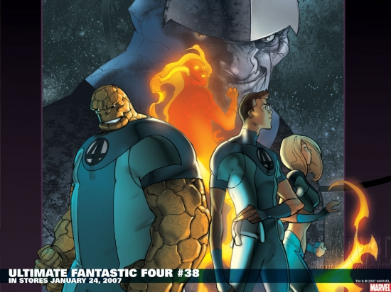 Ultimate Fantastic Four (2003) #38 Wallpaper