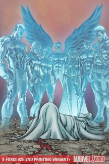 X-Force (2008) #26 (2ND PRINTING VARIANT)