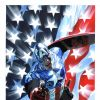 CAPTAIN AMERICA #34 (2004) cover by Alex Ross
