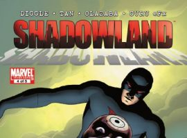 SHADOWLAND #4 cover by John Cassaday