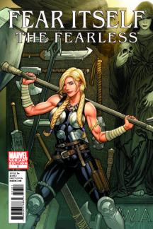 Fear Itself: The Fearless (2011) #1 (Tbd Artist Variant B)