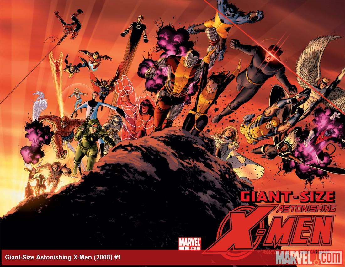 Giant-Size Astonishing X-Men (2008) #1