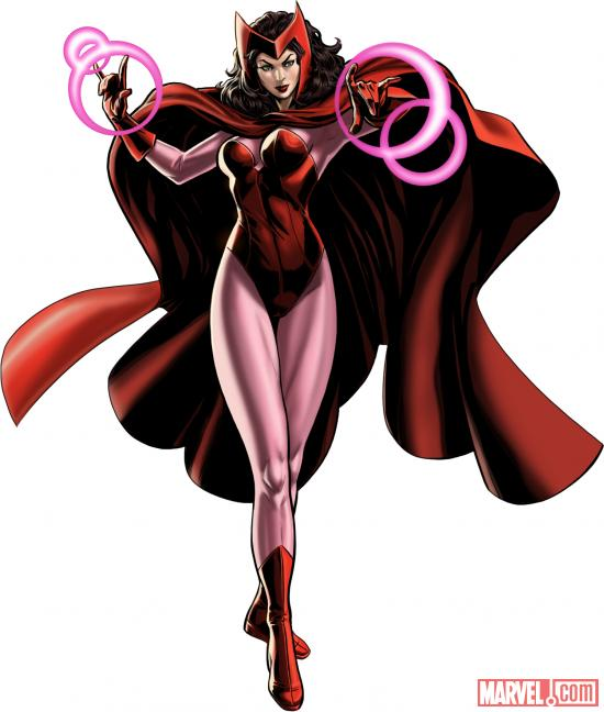 Scarlet Witch in Marvel: Avengers Alliance