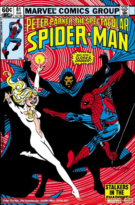 Peter Parker, the Spectacular Spider-Man (1976) #81 Cover