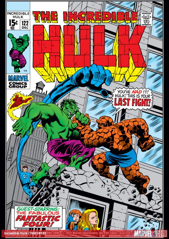 Incredible Hulk (1962) #122 Cover