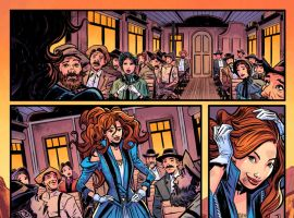 Big Thunder Mountain Railroad #1 preview art by Tigh Walker