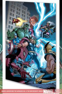 Marvel Adventures the Avengers Vol. 8: The New Recruits (Digest)