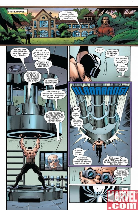 AMAZING SPIDER-GIRL #26, page 1