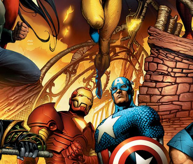 NEW AVENGERS (2006) #6 (BRYAN HITCH VARIANT) COVER