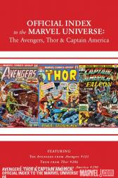 Avengers, Thor &amp; Captain America: Official Index to the Marvel Universe #4 