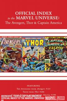 Avengers, Thor & Captain America: Official Index to the Marvel Universe (2010) #4
