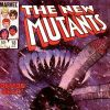 NEW MUTANTS #18 cover by Bill Sienkiewicz
