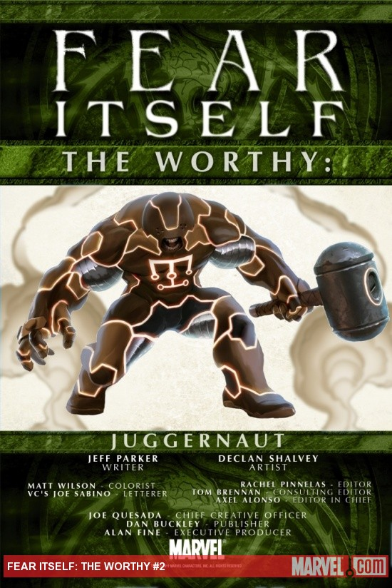 Fear Itself: The Worthy #2