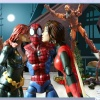 Spider-Man and the Avengers in Marvel Super Heroes: What The--?!
