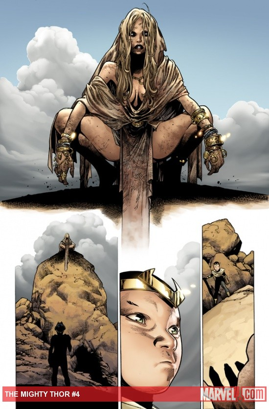 The Mighty Thor #4 Preview Art by Oliver Coipel 