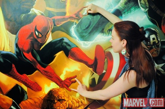 Marian and Spidey!