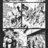Fear Itself: The Fearless #1 black and white preview art by Paul Pelletier