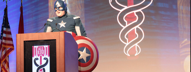 Captain America Appears for Siemens