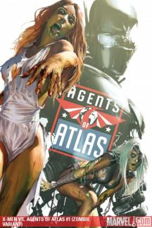 X-Men Vs. Agents of Atlas (2009) #1 (ZOMBIE VARIANT)