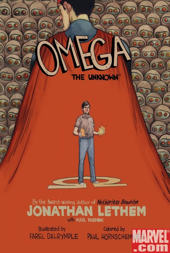 Omega the Unknown cover
