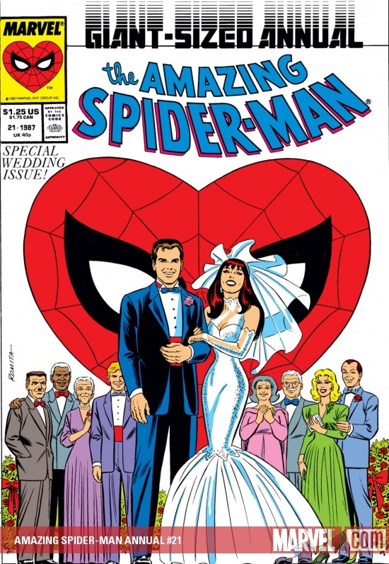 AMAZING SPIDER-MAN ANNUAL #21