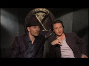 X-Men: First Class McAvoy & Fassbender