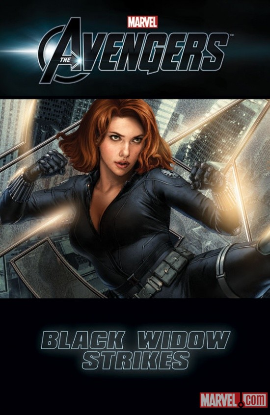 Marvel's The Avengers: Black Widow Strikes #1 Cover Art (Not Final)